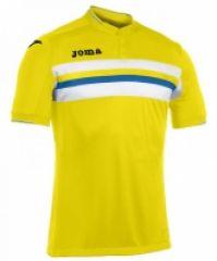 Tricouri Joma T- Serie A galben cu maneca scurta