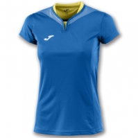 Tricouri sport Joma T- Silver Royal cu maneca scurta pentru Femei