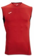 Tricou Joma Skin rosu-negru fara maneci