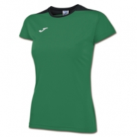 Tricouri sport Joma Spike verde-negru cu maneca scurta