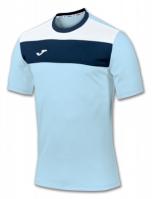 Tricou Joma sport Crew II Sky albastru cu maneca scurta