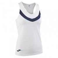 Tricou Joma Tenis 80 fara maneci alb pentru Femei