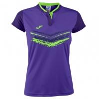 Tricou Joma Terra II Purple cu maneca scurta pentru Femei