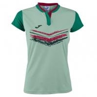 Tricou Joma Terra II verde cu maneca scurta pentru Femei