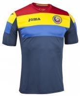 Tricou Joma Training cu maneca scurta Fa Romania albastru