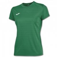 Tricouri sport Joma T- verde cu maneca scurta