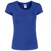 Tricou Joma Summer bumbac albastru cu maneca scurta pentru Femei
