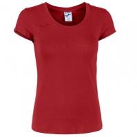 Tricou Joma Summer bumbac rosu cu maneca scurta pentru Femei