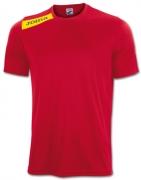 Tricou Joma Victory rosu-galben cu maneca scurta