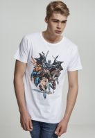 Tricou Justice League Crew alb Merchcode
