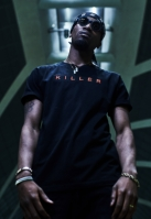 Tricou KILLER negru Mister Tee