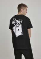 Tricou Kings Cards negru Mister Tee