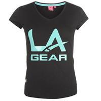 Tricou LA Gear LL cu decolteu in V pentru Femei