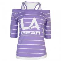 Tricou LA Gear Mock Layer pentru Femei