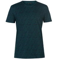 Tricou Label Lab Lyra All over Textured Lines Print