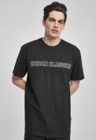Tricou larg Big Logo negru Urban Classics