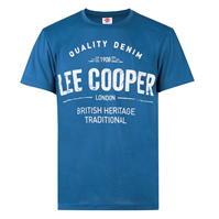 Tricou Lee Cooper cu imprimeu mare Print pentru Barbati
