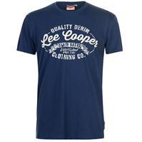 Tricou Lee Cooper cu imprimeu mare Vintage pentru Barbati