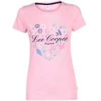 Tricou Lee Cooper Fashion pentru Femei