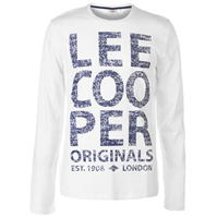 Tricou Lee Cooper Logo New pentru Barbati