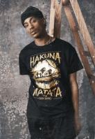 Tricou Lion King Hakuna Matata negru Merchcode