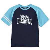 Tricou Lonsdale cu imprimeu mare Raglan pentru baietei