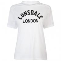 Tricou Lonsdale Long Line Crew pentru Femei
