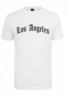 Tricou Los Angeles Wording alb Mister Tee
