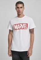 Tricou Marvel Logo alb Merchcode