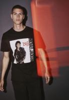 Tricou Michael Jackson Bad negru Merchcode