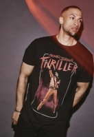 Tricou Michael Jackson Thriller Video negru Merchcode