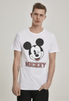 Tricou Mickey College alb Merchcode