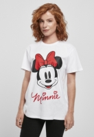 Tricou Minnie Mouse pentru Femei alb Merchcode
