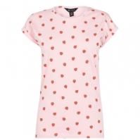 Tricou Miso Printed Boyfriend pentru Femei roz