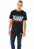 Tricou More Power negru Pusher