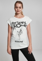 Tricou My Chemical Romance negru Parade Cover pentru Femei alb