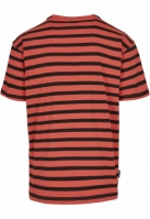 Tricou MY NEIGHBOR STRIPES Semi Box coral-mc Cayler and Sons