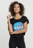 NASA Insignia Tee pentru Femei negru Mister Tee