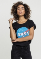 Tricou NASA Insignia pentru Femei negru Mister Tee