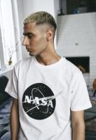 Tricou NASA negru-and-alb Insignia alb Mister Tee