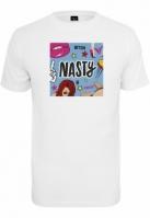 Tricou Nasty alb Mister Tee