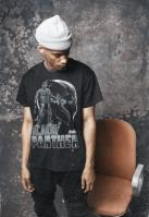 Tricou negru Panther Logo negru Merchcode