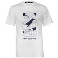 Tricou New Balance 5 Shoe QTT pentru Barbati