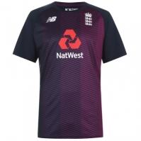 Tricou New Balance Balance Anglia Cricket cu guler rotund pentru Barbati