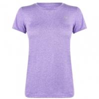 Tricou New Balance cu Maneca Scurta Heathered pentru Femei