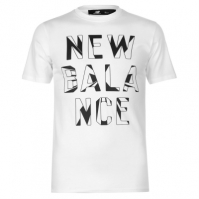 Tricou New Balance Written Print pentru Barbati