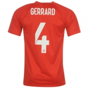 Nike England Away Stadium Shirt 2014 Gerrard