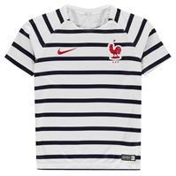 Tricou Nike France Pre Match pentru copii