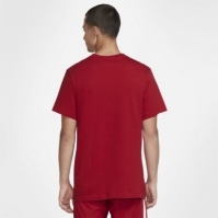 Tricou Nike Liverpool Crest 2021 2022 pentru Barbati rosu
