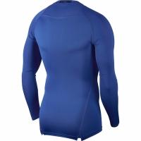Tricou Nike Pro Top compresie maneca lunga albastru 838077 480 barbati